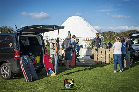 Cornwall Summer Bodyboard Camp   Luxury Glamping