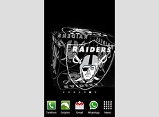 3D Oakland Raiders Live Wallpaper For Android Free