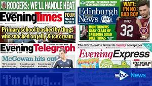 Evening papers: Stories making front page headlines on ...
