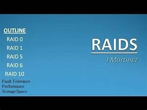 Raid 6 Kapazität Berechnen : asher dallas lecture raids 101 raid 0 vs raid 1 vs raid 5 vs raid 6 vs raid 10 by j martinez ~ Themetempest.com Abrechnung