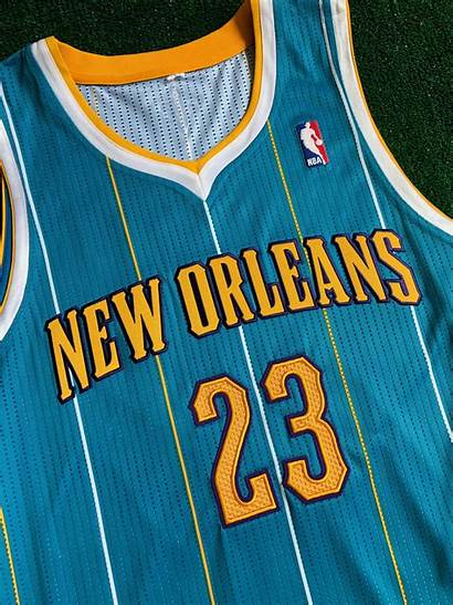 Jersey Hornets Nba Orleans Anthony Davis