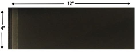 charcoal gray glass 4x12 inch subway tile 8mm