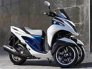 Moto A 3 Roues : yamaha tricity le scooter 3 roues compact ~ Medecine-chirurgie-esthetiques.com Avis de Voitures