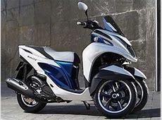 Yamaha Tricity le scooter à 3 roues compact