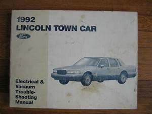 1992 Lincoln Town Car Wiring Diagram Service Electrical