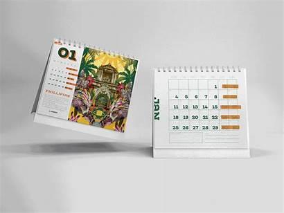 2021 Calendar Animal Behance Stabilo Enjoy Project