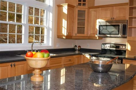 maple cabinets with granite countertops maple cabinets with gray counters kitchen remodel