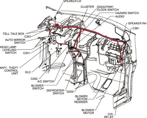 Spark Diagram by Chevrolet Spark Wiring Diagrams