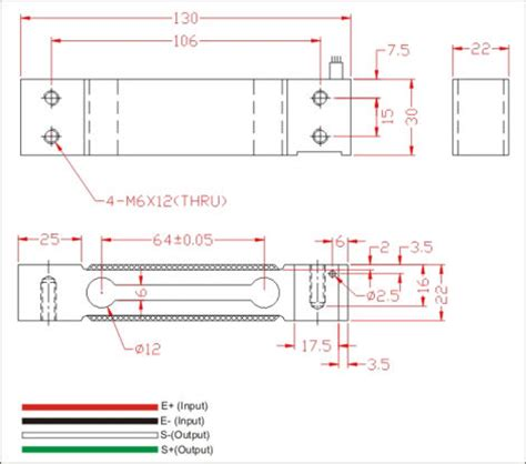 Load Cell Wiring Diagram by Load Cell 30kg New Oiml High Precision Ebay