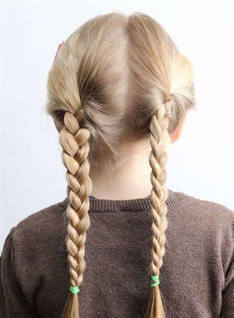 coiffure petite fille simple  idees qui ne prennent