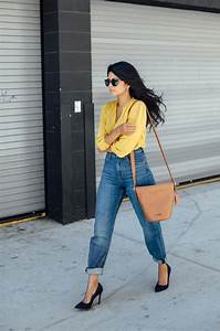 25+ best ideas about Yellow Blouse on Pinterest | Yellow work dresses Yellow shirt outfits and ...