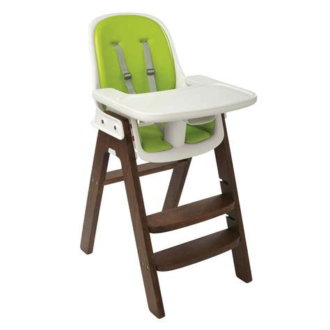 oxo sprout high chair seat height sprout high chair green walnut oxo