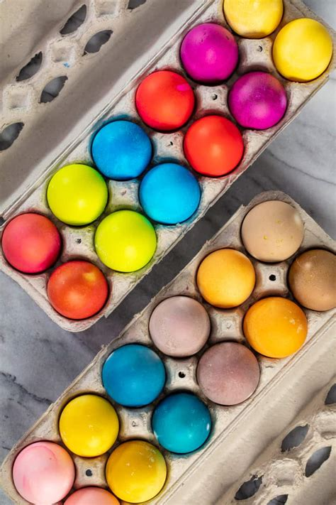 dying easter eggs with food coloring how to dye easter eggs with food coloring or colors