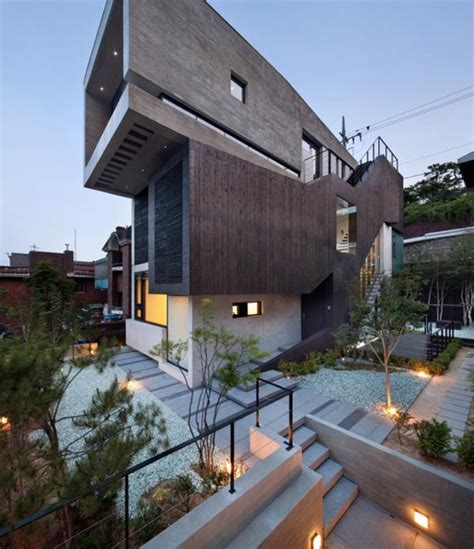modern house in korea modern architecture in korea by design group bang by min