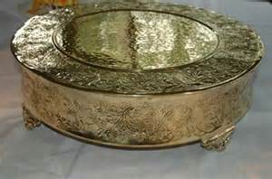wedding cake stand gold gold wedding cake stands for sale
