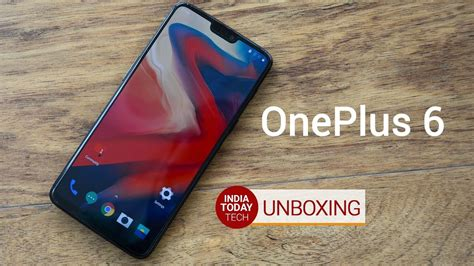 oneplus 6 unboxing specs design and features