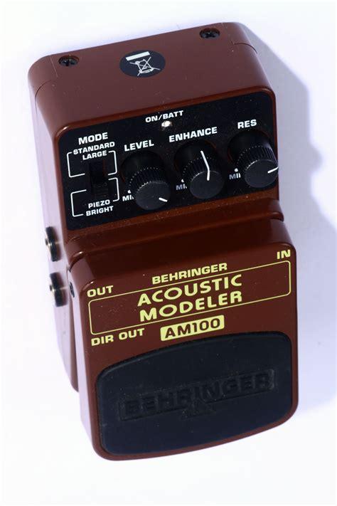 Behringer Am100 Uf 100 akustik modeler behringer am 100 gebraucht kalles