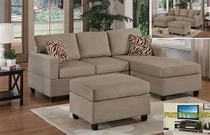 Sectional couches for small spaces for Pebble reversible sectional sofa