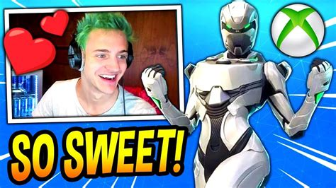 reacts to new xbox exclusive skin eon bundle fortnite savage moments
