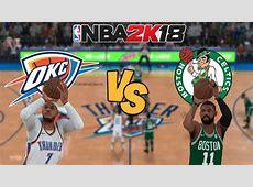 Oklahoma City vs Boston NBA Live Streaming Free 2018