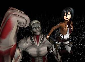 The gallery for --> Rogue Titan Vs Armored Titan