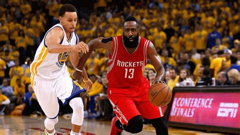 Clash Of The Titans As Golden State Warriors And Houston ...
