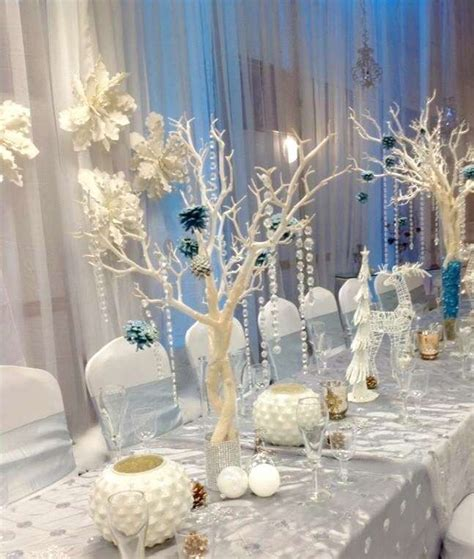 winter wonderland quinceanera party   party ideas