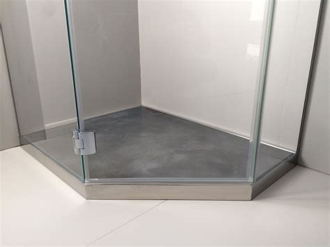 piatto doccia inox piatti doccia in acciaio inox rivestibili in legno marmo