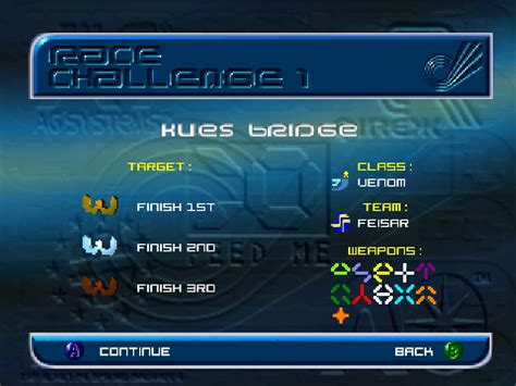 wipeout gamefabrique n64 game screenshots
