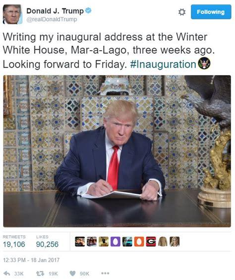 Trump Inauguration Memes - donald trump s tweet donald trump s inaugural address photo know your meme