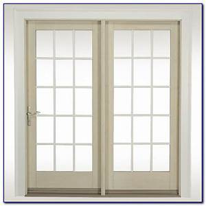 Hinged french patio doors with screens patios home for Hinged french patio doors with screens