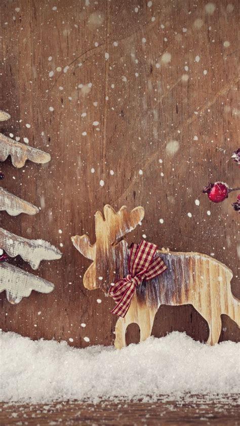 wallpaper christmas  year deer fir tree elk
