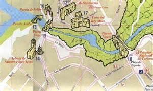 Ronda Spain Map