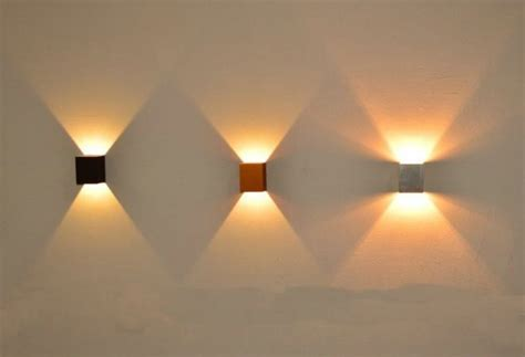 unique wall led lighting   draw  attention