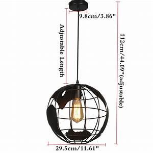 Lampe Globe Terrestre : lampe globe terrestre plafonnier suspension eclairage d cor chambre achat vente ampoule ~ Teatrodelosmanantiales.com Idées de Décoration