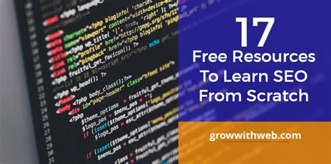 Learn Seo Free - 17 free resources to learn seo from the scratch