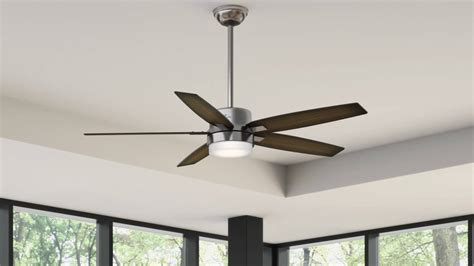 Prestige Windemere Ceiling Fan windemere 54 in contemporary brushed nickel
