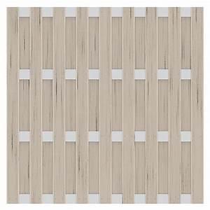 Wpc Fliesen Bauhaus : sichtschutzelement jumbo 179 x 179 cm wpc sand bauhaus ~ Orissabook.com Haus und Dekorationen