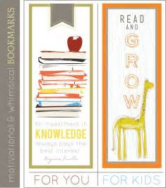 80 free printable bookmarks to make tip junkie