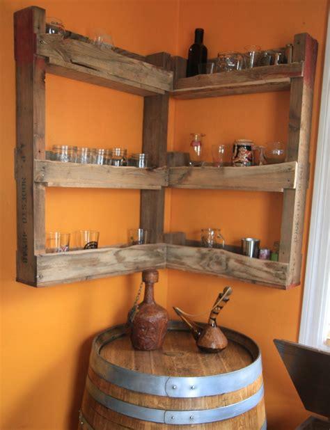 wall mounted liquor barrel corner and diy wall mounted liquor