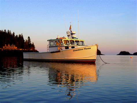 Lobster Boat New York by Bar Harbor Our Great American Adventure