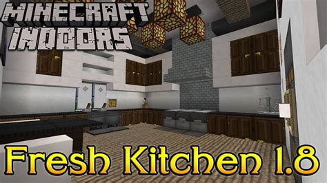 Minecraft Interior Design Kitchen by Minecraft Indoors Interior Design Fresh Kitchen 1 8