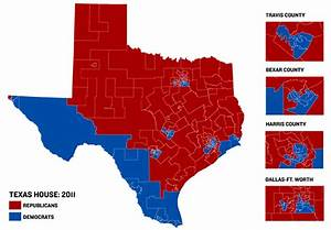 Texas House Map Reflects GOP Wave | The Texas Tribune
