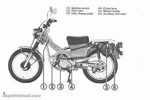 1980 honda ct110 scooter owners manual With honda 110 dirt bike
