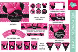 polka dot invitations freebie mickey minnie inspired printables leo