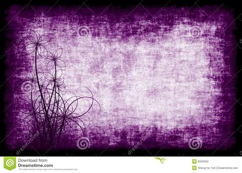 purple grunge background floral stock illustration