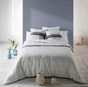 Parure De Lit Bleu : parure de lit coton sofia bleu best interior livraison rapide 24 48h ~ Teatrodelosmanantiales.com Idées de Décoration