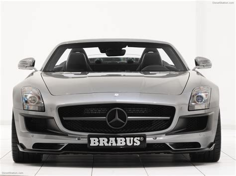 Brabus Mercedes Sls Amg Roadster 2018 Exotic Car Pictures