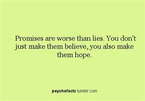 Quotes About Broken Promises