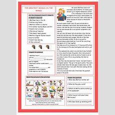 17 Free Esl Mum Worksheets
